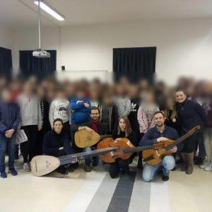 """Lezione Concerto Con L'associazione """"De Antiquo Ordine"""" Di Fossombrone"""