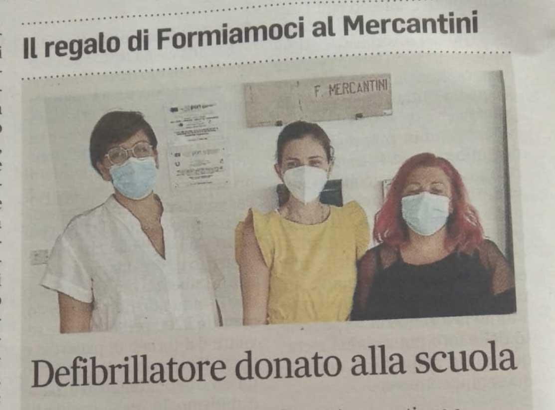 Defibrillatore Donato Alla Scuola